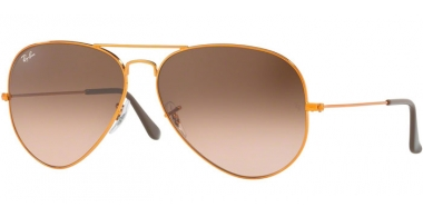 Gafas de Sol - Ray-Ban® - Ray-Ban® RB3026 AVIATOR LARGE METAL II - 9001A5 SHINY LIGHT BRONZE // PINK GRADIENT BROWN