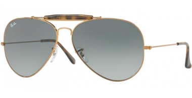 Gafas de Sol - Ray-Ban® - Ray-Ban® RB3029 OUTDOORSMAN II - 197/71 SHINY BRONZE // LIGHT GREY GRADIENT DARK GREY