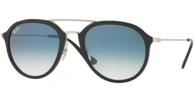 Gafas de Sol - Ray-Ban® - Ray-Ban® RB4253 - 62923F BLACK // CLEAR GRADIENT BLUE