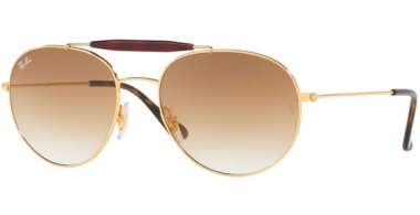Gafas de Sol - Ray-Ban® - Ray-Ban® RB3540 - 001/51 GOLD // BROWN GRADIENT