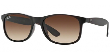 Gafas de Sol - Ray-Ban® - Ray-Ban® RB4202 ANDY - 607313 MATTE BROWN // BROWN GRADIENT
