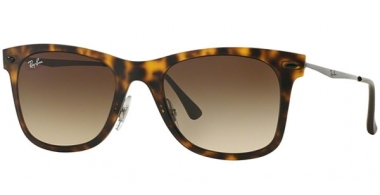 Sunglasses - Ray-Ban® - Ray-Ban® RB4210 - 894/13 MATTE HAVANNA // BROWN GRADIENT
