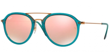 Gafas de Sol - Ray-Ban® - Ray-Ban® RB4253 - 62367Y TURQUOISE // COPPER FLASH GRADIENT