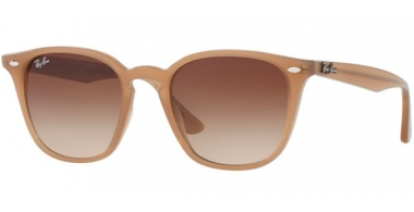 Gafas de Sol - Ray-Ban® - Ray-Ban® RB4258 - 616613 SHINY OPAL BEIGE // BROWN GRADIENT