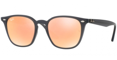 Gafas de Sol - Ray-Ban® - Ray-Ban® RB4258 - 62307J SHINY OPAL GREY // ORANGE FLASH ORANGE