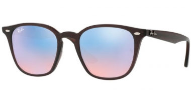 Gafas de Sol - Ray-Ban® - Ray-Ban® RB4258 - 62311N SHINY OPAL BROWN // BLUE FLASH BLUE