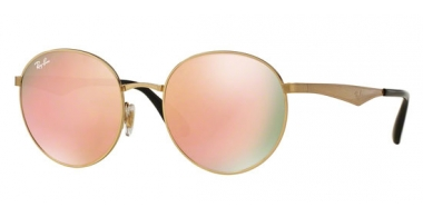 Gafas de Sol - Ray-Ban® - Ray-Ban® RB3537 - 001/2Y GOLD // BROWN MIRROR PINK
