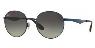 Gafas de Sol - Ray-Ban® - Ray-Ban® RB3537 - 185/11 SHINY BLUE // LIGHT MIRROR BLUE