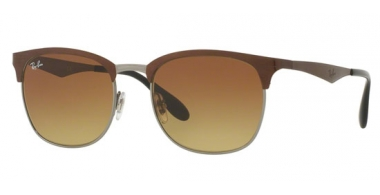 Sunglasses - Ray-Ban® - Ray-Ban® RB3538 - 188/13 TOP BROWN ON GUNMETAL // LIGHT BROWN GRADIENT BROWN