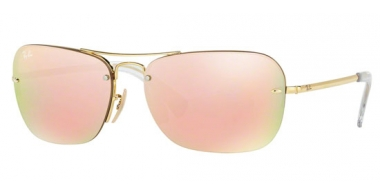 Gafas de Sol - Ray-Ban® - Ray-Ban® RB3541 - 001/2Y GOLD // BROWN MIRROR PINK
