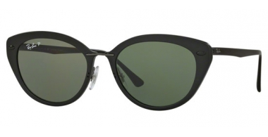 Gafas de Sol - Ray-Ban® - Ray-Ban® RB4250 - 601S9A MATTE BLACK // GREEN POLARIZED