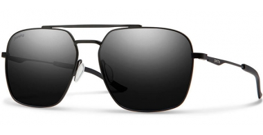 Gafas de Sol - Smith - DOUBLE DOWN - 003 (1C)  MATTE BLACK // GREY ChromaPop™