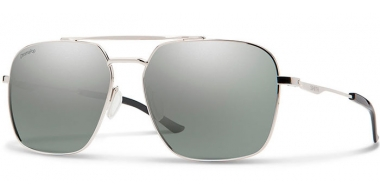 Gafas de Sol - Smith - DOUBLE DOWN - 010 (OP)  PALLADIUM // PLATINUM MIRROR POLARIZED ChromaPop™