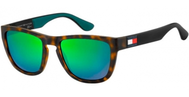 Sunglasses - Tommy Hilfiger - TH 1557/S - PHW (Z9)  HAVANA GREEN // GREEN MULTILAYER