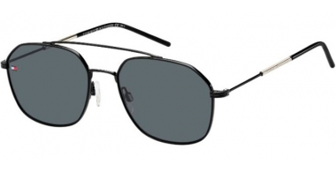 Sunglasses - Tommy Hilfiger - TH 1599/S - 807 (IR) BLACK // GREY
