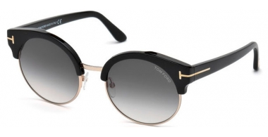 Sunglasses - Tom Ford - ALISSA-02 FT0608 - 01B SHINY BLACK // GREY GRADIENT