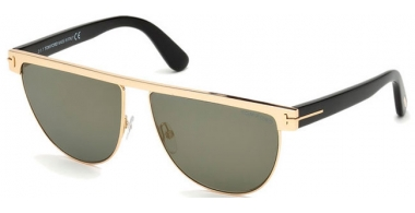 Gafas de Sol - Tom Ford - STEPHANIE-02 FT0570 - 28C SHINY ROSE GOLD // GREY MIRROR