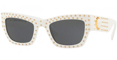 Gafas de Sol - Versace - VE4358 - 401/87 WHITE // GREY