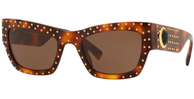 Gafas de Sol - Versace - VE4358 - 521773 HAVANA // BROWN