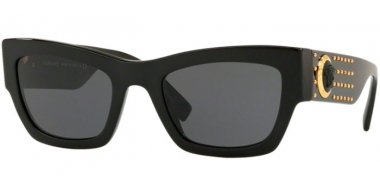 Gafas de Sol - Versace - VE4358 - 529587 BLACK // GREY