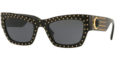 Gafas de Sol - Versace - VE4358 - GB1/87 BLACK // GREY