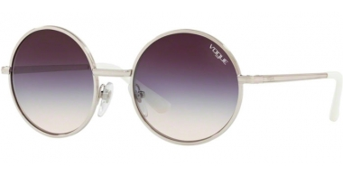 Sunglasses - Vogue - VO4085S - 323/36 SILVER // PINK GRADIENT DARK VIOLET