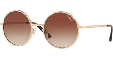 Sunglasses - Vogue - VO4085S - 848/13 PALE GOLD // BROWN GRADIENT