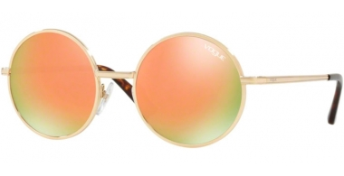 Sunglasses - Vogue - VO4085S - 848/4Z PALE GOLD // GREY MIRROR ROSE GOLD