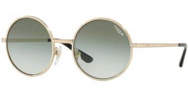 Sunglasses - Vogue - VO4085S - 848/8E PALE GOLD // GREEN GRADIENT