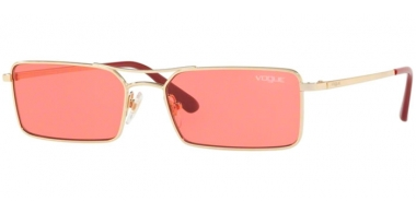 Sunglasses - Vogue - VO4106S - 848/F5 PALE GOLD // PINK