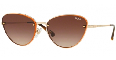 Sunglasses - Vogue - VO4111S - 848/13 PALE GOLD // BROWN GRADIENT