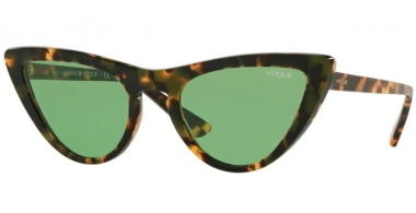 Sunglasses - Vogue - VO5211S BY GIGI HADID - 2073/2 TORTOISE BROWN // DARK GREEN