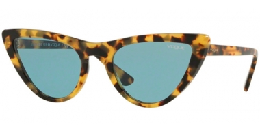 Sunglasses - Vogue - VO5211S BY GIGI HADID - 260580 HAVANA HONEY // BLUE