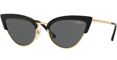 Sunglasses - Vogue - VO5212S - W44/87 BLACK GOLD // GREY