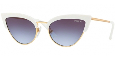 Sunglasses - Vogue - VO5212S - W7454Q WHITE GOLD // LIGHT VIOLET GRADIENT DARK GREY