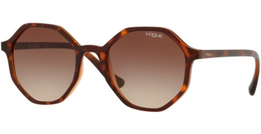 Sunglasses - Vogue - VO5222S - 238613 DARK HAVANA LIGHT BROWN TRANSPARENT // BROWN GRADIENT