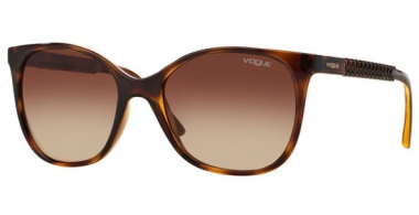 Sunglasses - Vogue - VO5032S - W65613 DARK HAVANA // BROWN GRADIENT