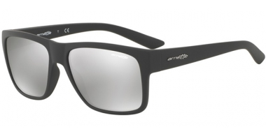 Sunglasses - Arnette - AN4226 RESERVE - 53816G MATTE DARK // GREY LIGHT GREY MIRROR SILVER