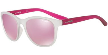Gafas de Sol - Arnette - AN4228 GROWER - 23877V MATTE CLEAR // PINK MIRROR WHITE
