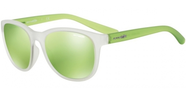 Gafas de Sol - Arnette - AN4228 GROWER - 23888N MATTE CLEAR // LIGHT GREEN MIRROR GREEN