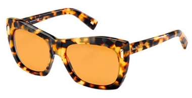 Sunglasses - MaxMara - MM MALIBU II - 00F (2Q) SPOTTED HAVANA // BROWN