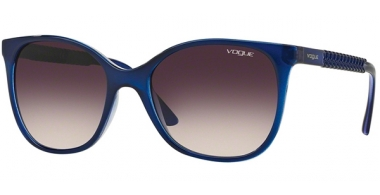 Sunglasses - Vogue - VO5032S - 238436 TOP DARK BLUE VIOLET TRANSPARENT // PINK GRADIENT GREY