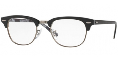 Frames - Ray-Ban® - RX5154 CLUBMASTER - 5649 BLACK ON TEXTURE CAMUFLAGE