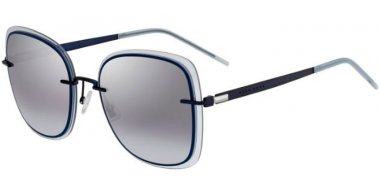 Sunglasses - BOSS Hugo Boss - BOSS 1167/S - PJP (GO) BLUE // GREY GRADIENT AZURE SILVER MIRROR