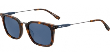 Sunglasses - HUGO Hugo Boss - HG 0325/S - N9P (KU) MATTE HAVANA // BLUE GREY