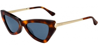 Sunglasses - Jimmy Choo - DONNA/S - 086 (KU) DARK HAVANA // BLUE GREY