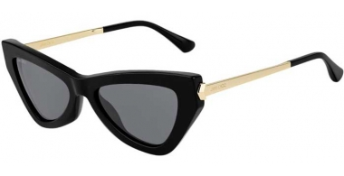 Sunglasses - Jimmy Choo - DONNA/S - 807 (IR) BLACK // GREY