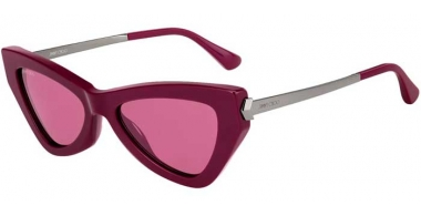 Sunglasses - Jimmy Choo - DONNA/S - 8CQ (U1) CHERRY // PINK