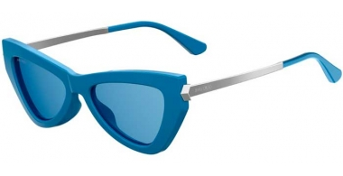 Sunglasses - Jimmy Choo - DONNA/S - MVU (KU) AZURE // BLUE GREY