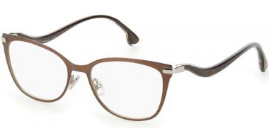 Frames - Jimmy Choo - JC256 - 12R  MATTE BROWN SILVER